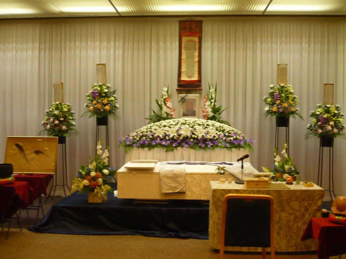 葬儀プラン 350 祭壇例1